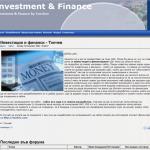 Investment & Finance Tonchev
